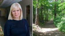 C om Årstaskogen: Bygg högt och tätt istället för i grönområden.