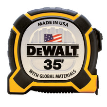 DEWALT Adds 35-foot XP™ Tape Measure Designed for Extended Performance