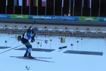 Tung start för de svenska skidskytteherrarna i Universiaden