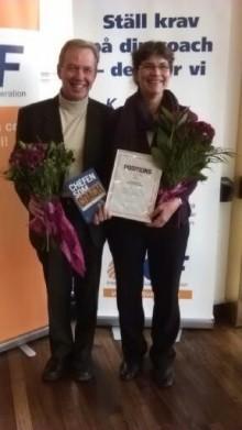 Lena Sobel och Sören Holm prisas för årets ledarskapsbok