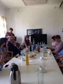 Come Together ambassadörerna på svenska ambassaden i Tanzania