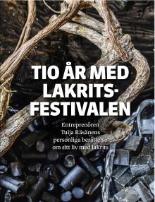 Bokrelease: Tio år med Lakritsfestivalen