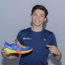 Brightest young French squash star sign exclusive shoe deal with Salming