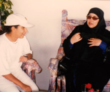 MOTHERS DAY CALLS TO MOTHER OF KIDNAPPED PRINCESS LATIFA TO RELEASE HER AS FAMILY PICTURES RELEASED