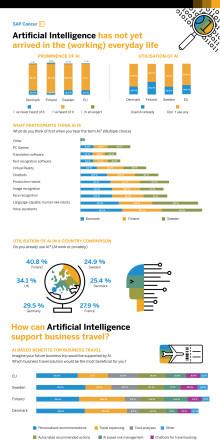 Infografik - AI i Sverige och resten av Norden
