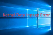 10 Lösungen zur Fehlerbehebung Kernel Data Inpage Error unter Windows 10/8,1/8/7