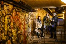 Filmare skapar film Guerilla Style