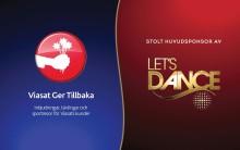 Viasat blir huvudsponsor till Let´s dance