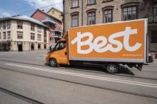 Best Transport utökar sitt hemleveranserbjudande med paket i storlekarna M-XL