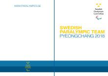 Sveriges Paralympiska Kommitté lanserar mediematrikel inför Paralympics i PyeongChang