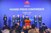 Inbjudan presskonferens Huawei 7 mars kl 03.00, livesändning webb