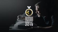 """German Design Award  für Produktfilm """"TitanCeram"""" -  Projekt von Villeroy & Boch und Agentur zeit:raum film GmbH erhält """"Special Mention"""""""