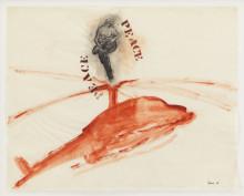 Nancy Spero på Nordiska Akvarellmuseet / Pressvisning 20 september kl. 12