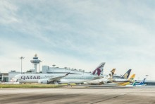 A record 62.2 million passengers for Changi Airport in 2017