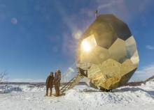 """Riksbyggens Solar Egg deltar i den världsomspännande tävlingen """"Building of the year"""""""
