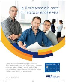 Al via la campagna di comunicazione targata Visa tutta dedicata alle piccole imprese