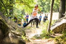 Unik Naturparkourpark invigs på Lida