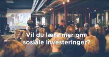 Toppmøte for sosiale investorer!