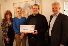 En halv million i julegave fra Kavli-ansatte