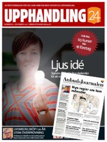 Upphandling24 tar över Anbudsjournalen