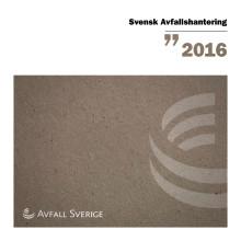 Svensk Avfallshantering 2016
