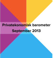 Privatekonomisk barometer september 2013
