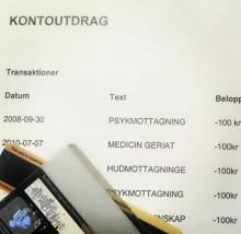 Landsting läckte uppgifter om vårdbesök till bank