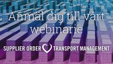 Webinar om Order- & Transport Management
