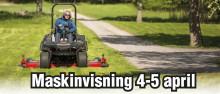 Maskinvisning 4-5 april hos Visby Bil & Maskin!