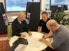 Första hyresgästen signerar för etapp 5 med världsunik satsning