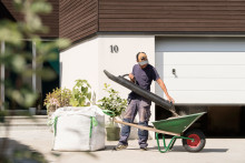 Skyfflalette är den ergonomiska skyffeln som underlättar trädgårdsarbetet