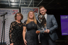 Fischer Panda UK: Fischer Panda UK's Chris Fower Recognised at  2018 British Marine Trades Association Awards Dinner