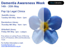 Free legal clinics for people with dementia