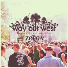 Zoégas servar för smakfullhet under musikfestivalen Way out West