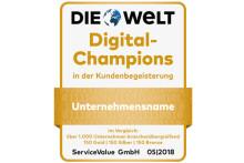 Wer gehört zu den Digital-Champions 2018?