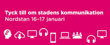 Göteborgs Stads Infocontainer 16-17 januari