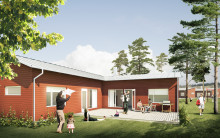 Balticgruppen bygger 37 arkitektritade bostäder på Umedalen