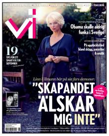 Tidningen Vi nr9 2012: Linn Ullmanns relation med fiaskot