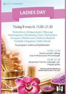 Kvinnornas dag på Hylliebadet