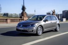 Säljstart för eldrivna Volkswagen e-Golf