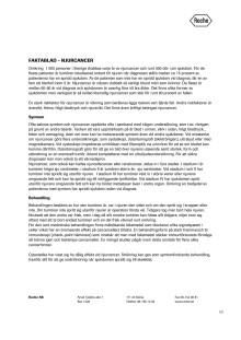 Faktablad - Njurcancer