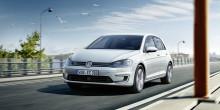 Säljstart för nya Volkswagen e-Golf med upp till 30 mils räckvidd