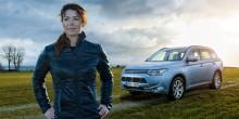 Renata Chlumska lanserar Mitsubishi Outlander Plug-in Hybrid