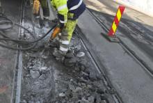 Grefsenveien stenger for trafikk med sporvogn i fire døgn