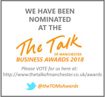 Finegreen shortlisted as a finalist for the upcoming Talk of Manchester Business Awards 2018 - Vote Now!