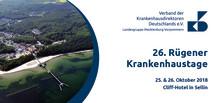 Newsletter KW 36: 26. Rügener Krankenhaustage der Landesgruppe Mecklenburg-Vorpommern
