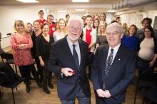 Nobelpristagare i kemi besökte KLARA Gymnasium