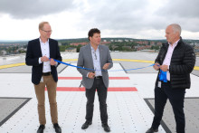 Norrlands universitetssjukhus har Sveriges modernaste helikopterflygplats