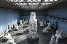 Stengt grunnet montering av ny utstilling i Vigeland-museet