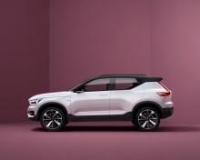 Volvo premiärvisar nya serien med mindre bilar